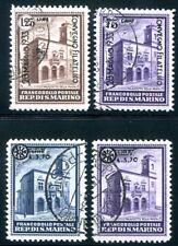 SAN MARINO 1933 200-210,206-207 gestempelt TADELLOS 515€(Z2722