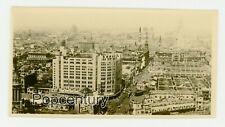Pre WW2 1930s China Photograph Shanghai Panoramic Detailed City View Sharp Photo