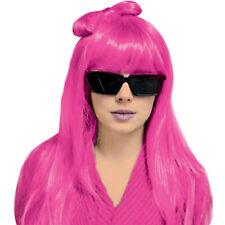 Parrucca LADY GAGA rosa con FIOCCO
