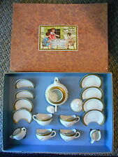 Old Vintage Miss Muffet Tea Set Toy E6917 1 Set Germany Childrens Kitchen Dishes