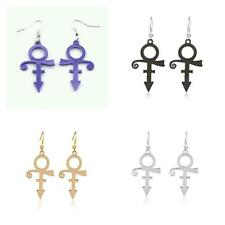 Prince Symbol Earrings, Purple Rain, Choice of 4 Colors