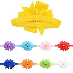 Multicolor Bow Headband Baby Hair bands Flower Hair Ties Kids Hair Accessories