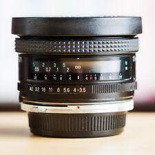 Tamron SP 17mm f/3.5 151B +Bague Adaptall Canon FD / Olympus Lire description !!
