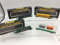Graham Farish N Gauge Intermodal Wagons x4