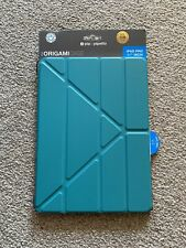 "Pipetto Origami iPad Case Pro 11"" (2018) with 5 in 1 Stand, Turquoise Lambskin"