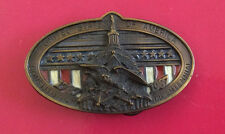 Vintage USA Constitution Bicentennial Belt Buckle, 1787-1987 numbered limited ed