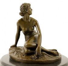 Art Nouveau Bronze Figure (1881) - Spring, sign. artist