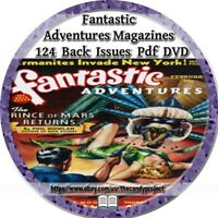 Fantastic Adventures Magazine 124 Issues Pdf 4 DVDs Fantasy Science Fiction