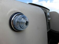 Land Rover Series 1 2 2a Lucas L594 Combined Indicator Sidelight Glass Lens Unit