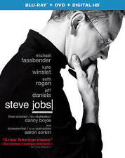 Steve Jobs (Blu-ray/DVD, 2016, 2-Disc Set, Canadian)