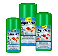 Tetra Pond AQUASAFE Tap Water Conditioner Dechlorinator 250ml 500ml 1000ml 1L
