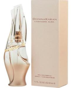 Donna Karan Cashmere Aura Eau de Parfum woman 1.7 oz/50ml SOFT Feminine Scent