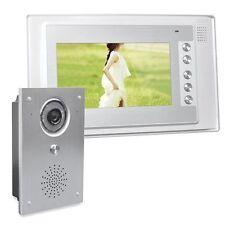 Video Türsprechanlage Monitor 7 Zoll Display 110° Sichtwinkel Kamera Nachtsicht