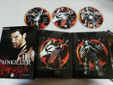 PAINKILLER JUEGO PC ESPAÑOL 3 X CD-ROM DREAM CATCHER CAJA ESPECIAL DESPLEGABLE