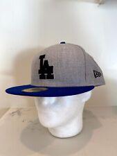 New Era 59 Fifty Fitted Hat Sz 8 LA Dodgers