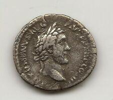 Emperador Antonio Pio / Marco Aurelio  Un denario  Plata  NL347