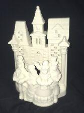 Partylite~Porcelain Bisque Village Carolers ~Votive Candleholder