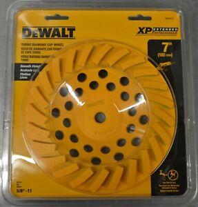 "Dewalt DW4773T 7"" Turbo Diamond Cup Wheel NEW AND SEALED"