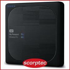 WD My Passport Wireless Pro 2TB Portable External Hard Drive - Black
