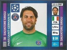 PANINI UEFA CHAMPIONS LEAGUE 2013-14- #171-PARIS SAINT-GERMAIN-SALVATORE SIRIGU