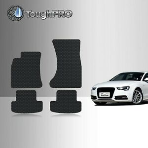 ToughPRO Floor Mats Black For Audi A5 S5 RS5 All Weather Custom Fit 2009-2016