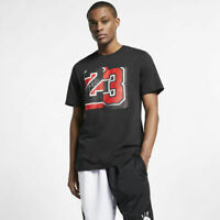 Nike Air Jordan Slash 23 T-Shirt Black Red AQ4108-010 Men's NWT