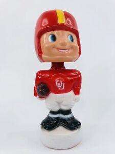 Vintage OU Oklahoma University Sooners Football Plastic Bobblehead