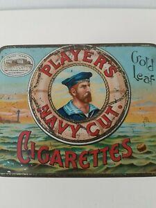 Vintage Players Navy Cut Cigarette Tin