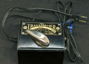 Vintage Louis Marx & Co. 1209 50 Watts Transformer. TESTED & WORKING! O S SCALE