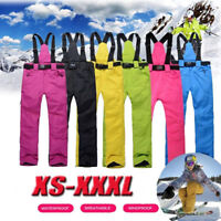 Ski Pant Outdoor Sports Suspender Trouser Men Windproof Waterproof Warm WinterNT