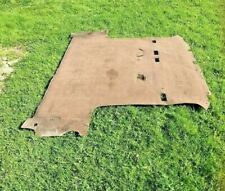 LAND ROVER DISCOVERY 1 300TDI REAR FLOOR CARPET IN BEIGE