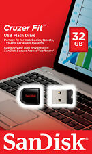 SanDisk Cruzer Fit CZ33 32GB U