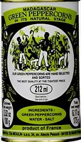 2 Madagascar Green Peppercorns 6.17oz Product of France, BRAND NEW 2021