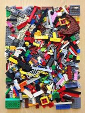 Lego 1 Pound Mixed Assorted Genuine Bricks + 1 Minifigure