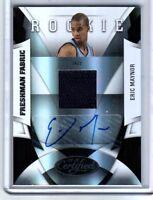 NBA Eric Maynor 2009-10 Panini FF Utah Jazz VCU Autograph Relic Card SN 131/399