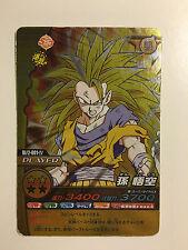 Dragon Ball Z W Bakuretsu Impact Promo Prism BI/2-001-IV