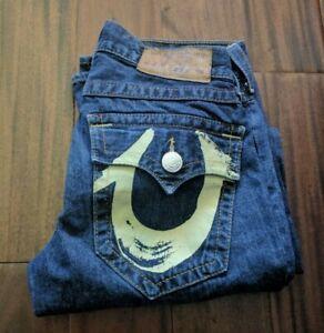 True Religion Billy Printed Pocket Jeans Men's 31 Waist 32 Inseam