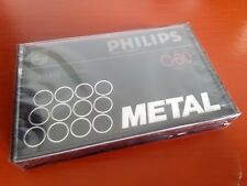CASSETTE TAPE BLANK SEALED - 1x (one) PHILIPS METAL C-60 [1979-81]