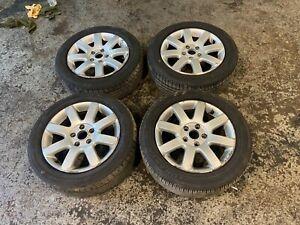 04-08 VW Volkswagen Mk5 Golf 5x112 Alloy Wheels + Tyres x4 Set 205/55/16 GENUINE