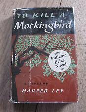TO KILL A MOCKINGBIRD by Harper Lee - 1st/23rd HCDJ 1961   - $3.95 - classic