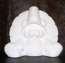 THANKSGIVING Turkey Teddy Bear * Ceramic Bisque Ready to Paint