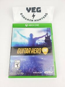 Guitar Hero Live (Xbox One, 2015) Game/Case/Insert Tested Canadian Seller