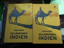 Sven Hedin: Zu Land nach Indien durch Persien, Seistan, Belutschistan 1910 Oln.