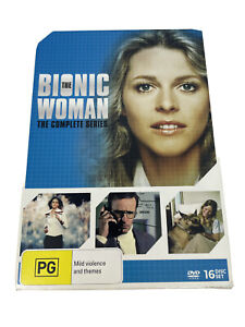 The Bionic Woman Complete Series DVD - 16 Disc Set