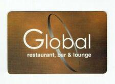Global Gift Card Restaurant Bar & Lounge - Charlotte, NC - No Value - I Combine