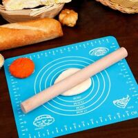 Rolling Silicone Mat Sugarcraft Fondant Cake Clay Pastry Icing Dough Accessories
