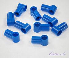 Tecnologia LEGO - 10 X Connettore N. 1 Blu/ASSE PIN/32013 Merce Nuova