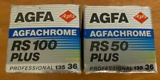 2 Rolls AgfaChrome Professional 35 mm slide file. 1 RS50 and 1 RS100. Exp 94&95