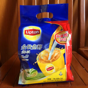Lipton Gold Hong Kong Style instant Milk Tea (34 Packs) in 1 bag