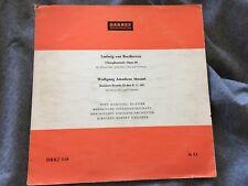 "POPY NOUSSIAS greek pianist EARLY 1950s BEETHOVEN Fantasy & MOZART Rondo 10"" LP"